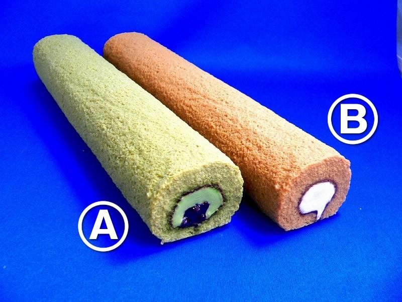 Matcha & Azuki Bean Roll Cake Replica