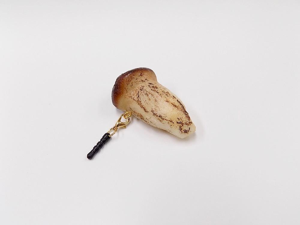 Matsutake Mushroom (small) Headphone Jack Plug