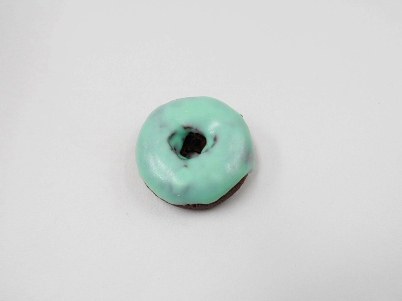 Melon Frosted Chocolate Doughnut (small) Magnet
