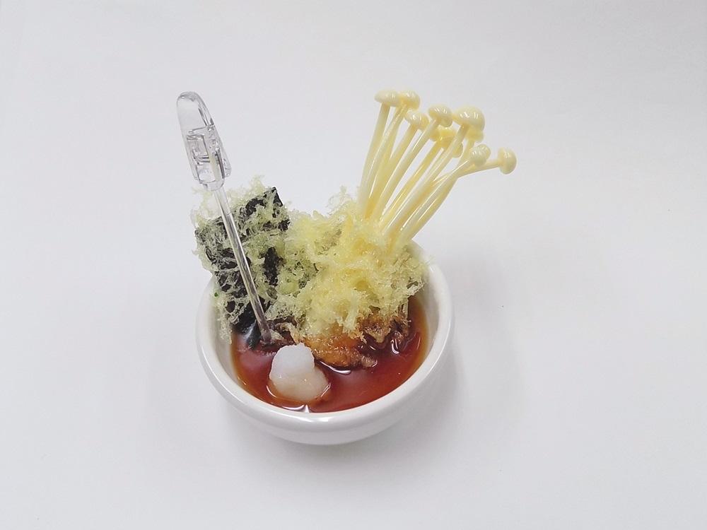 Mushroom & Seaweed Tempura Small Size Replica