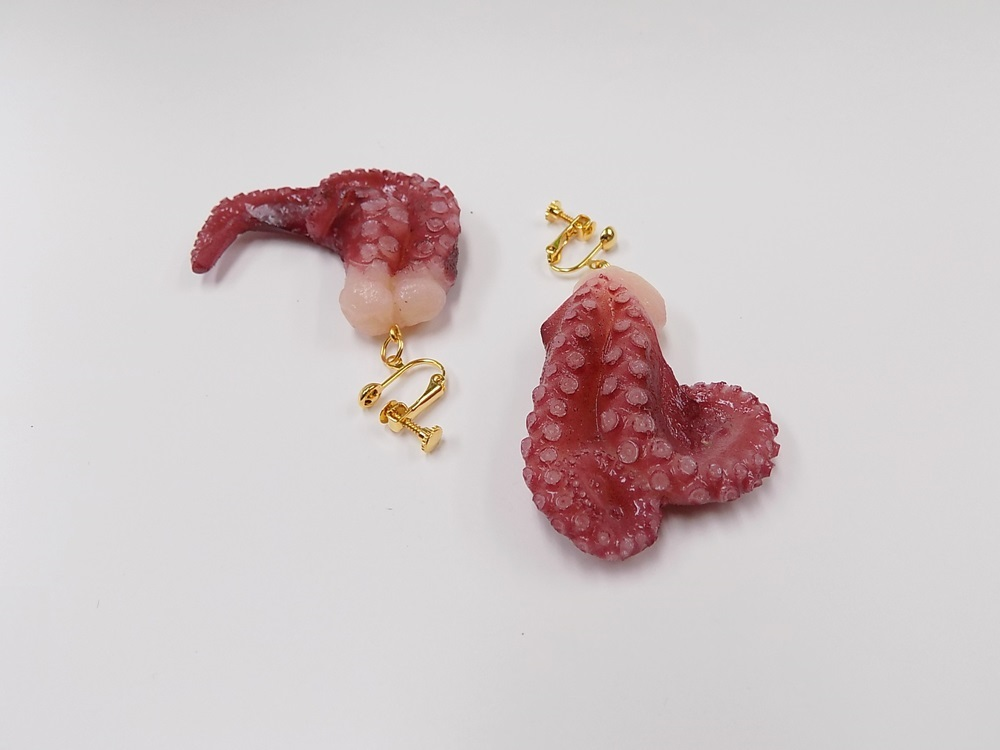 Octopus Ver. 3 Clip-On Earrings