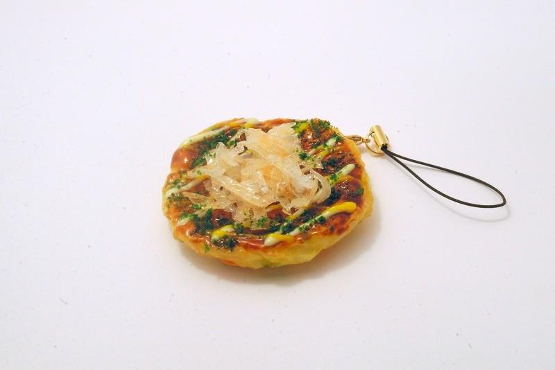 Okonomiyaki (Pancake) Cell Phone Charm/Zipper Pull