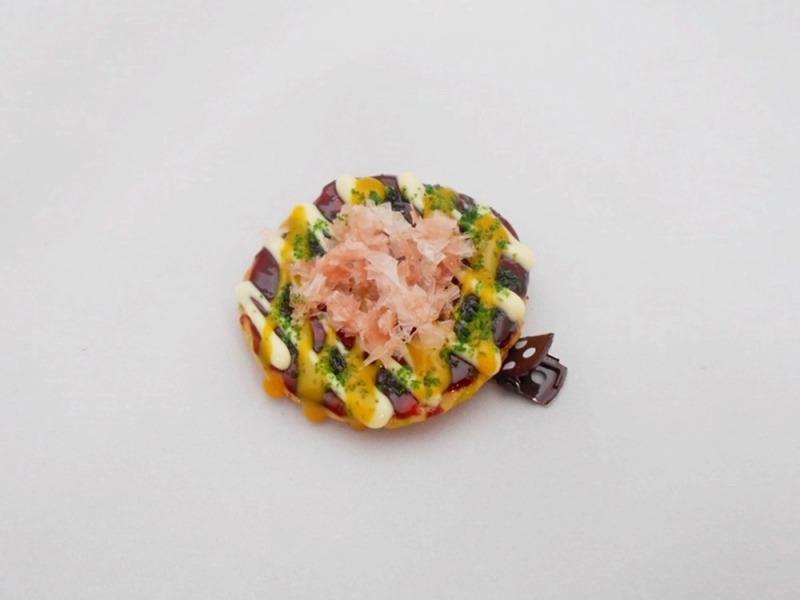 Okonomiyaki (Pancake) Hair Clip