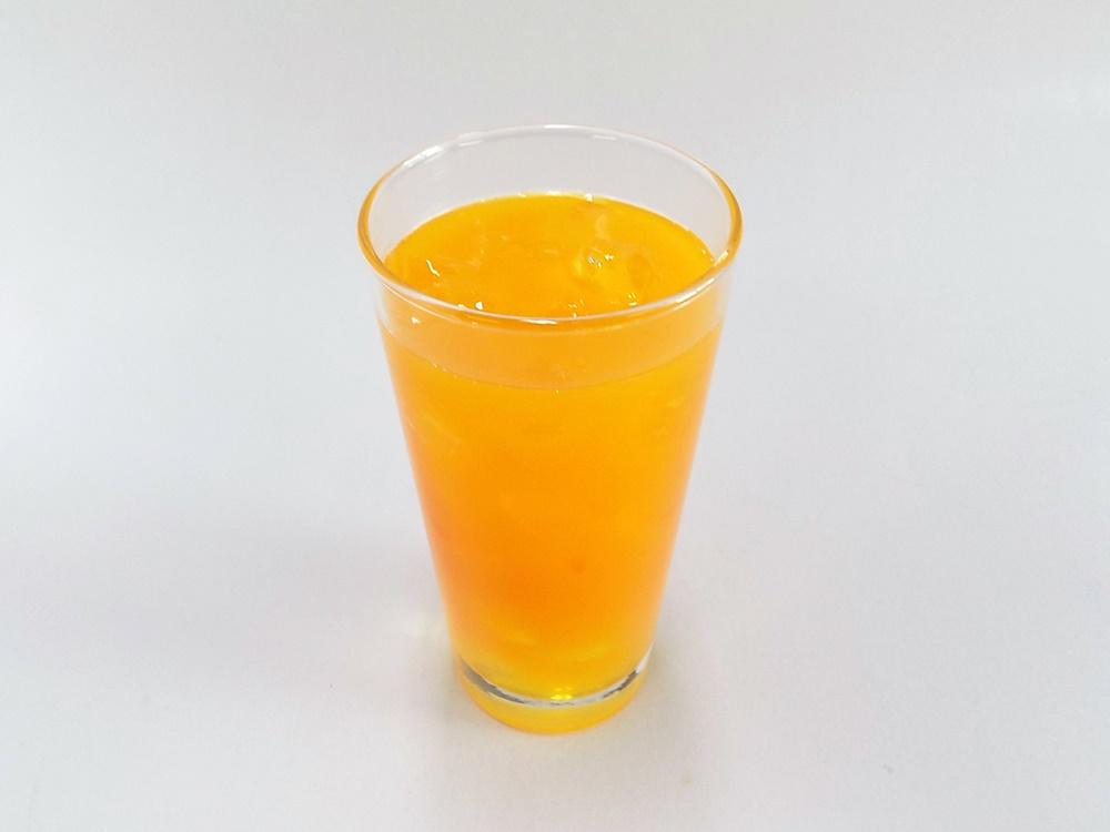 オレンジジュース 食品サンプル