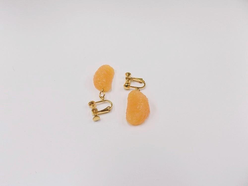 Orange (small) Clip-On Earrings