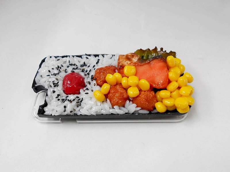 Salmon & Kara-age (Boneless Fried Chicken) Bento (new) iPhone 7 Case