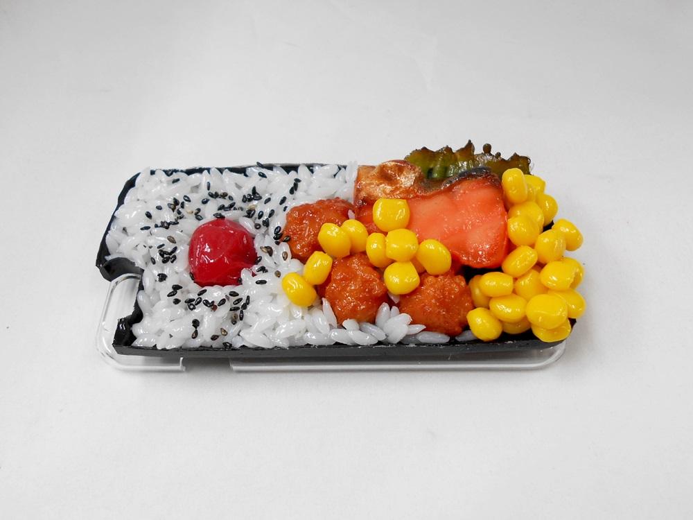 Salmon & Kara-age (Boneless Fried Chicken) Bento (new) iPhone 8 Case