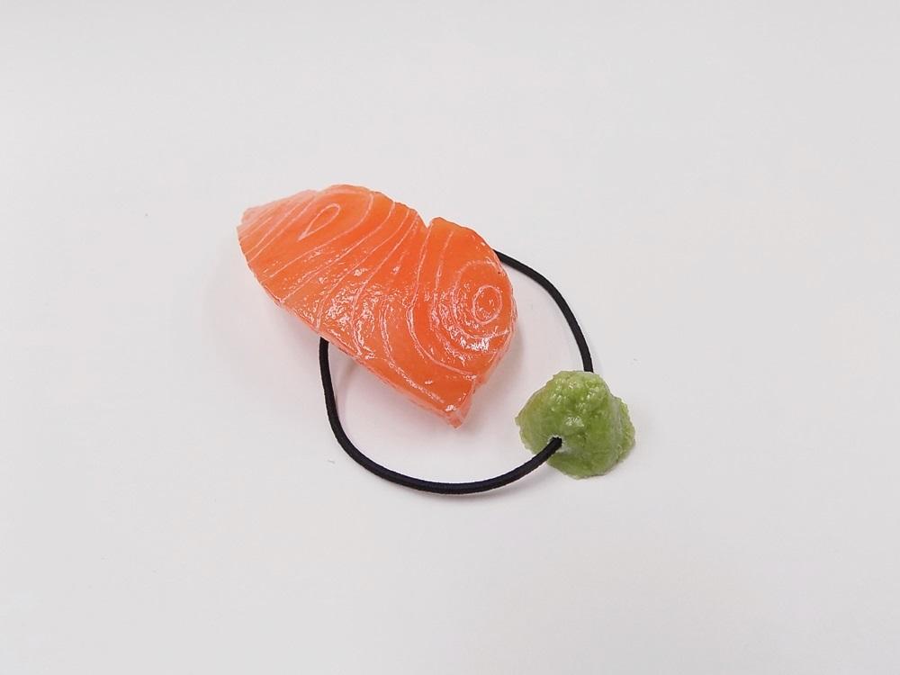 Salmon Sushi & Wasabi Hair Band (Pair Set)