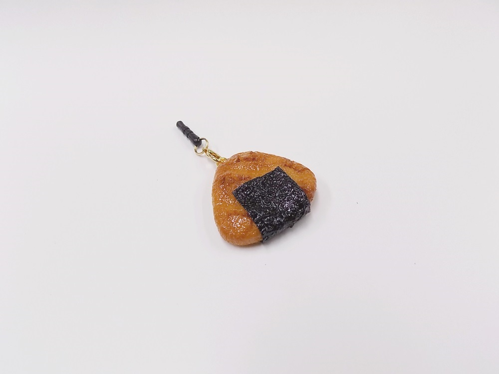 Senbei (Japanese Cracker) with Seaweed (small) Headphone Jack Plug