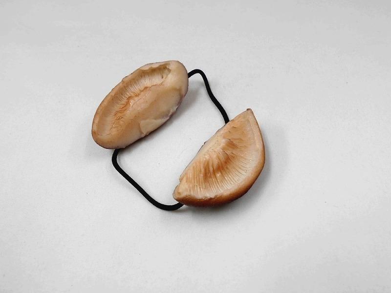 Shiitake Mushroom Hair Band (Pair Set)