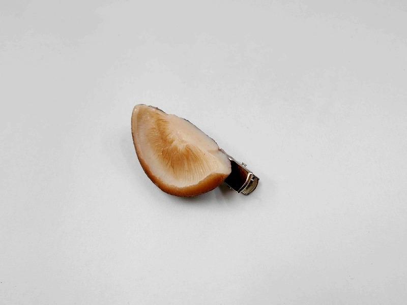 Shiitake Mushroom Hair Clip