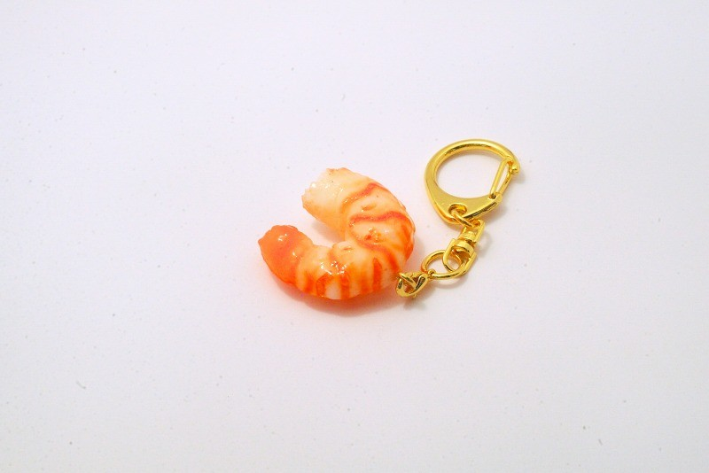 Shrimp (small) Keychain