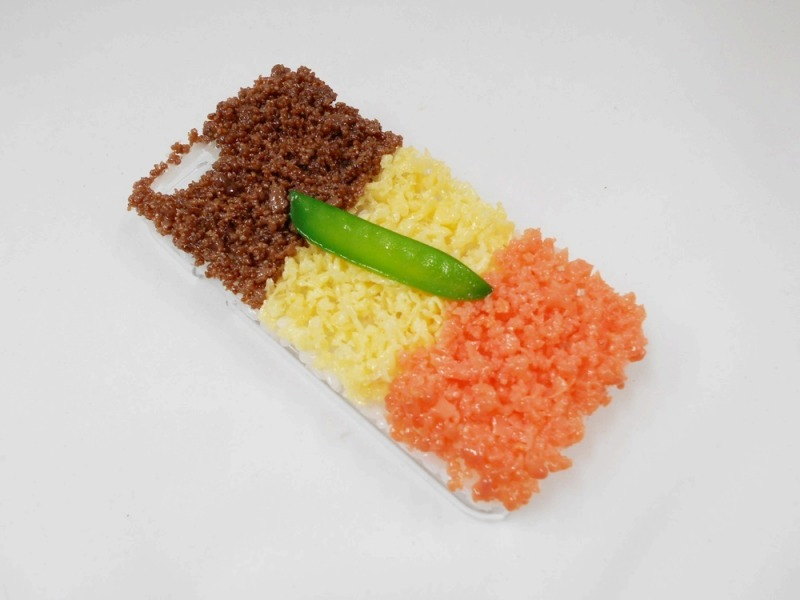 Soboro (Soy Sauce Minced Meat) Rice iPhone 4/4S Case