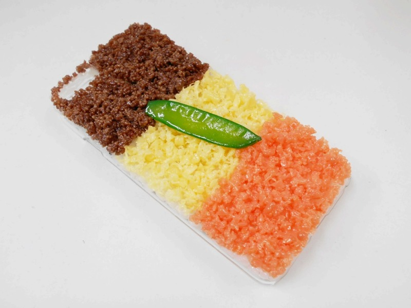 Soboro (Soy Sauce Minced Meat) Rice iPhone 6 Plus Case