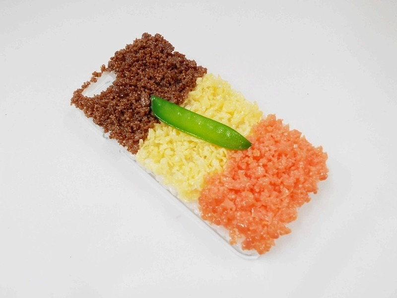 Soboro (Soy Sauce Minced Meat) Rice iPhone 8 Case