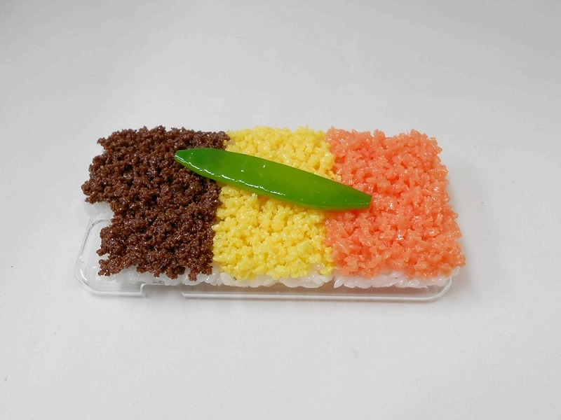 Soboro (Soy Sauce Minced Meat) Rice (new) iPhone 5/5S Case