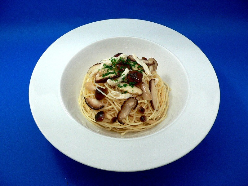 Spaghetti with Mushrooms Replica
