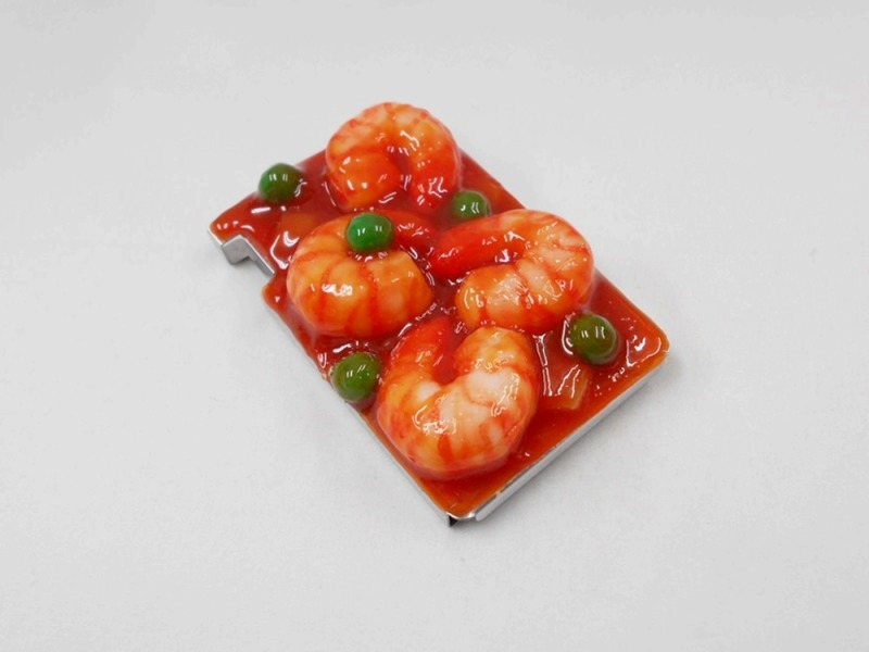 Stir-Fried Shrimp with Chili Sauce Mintia Case