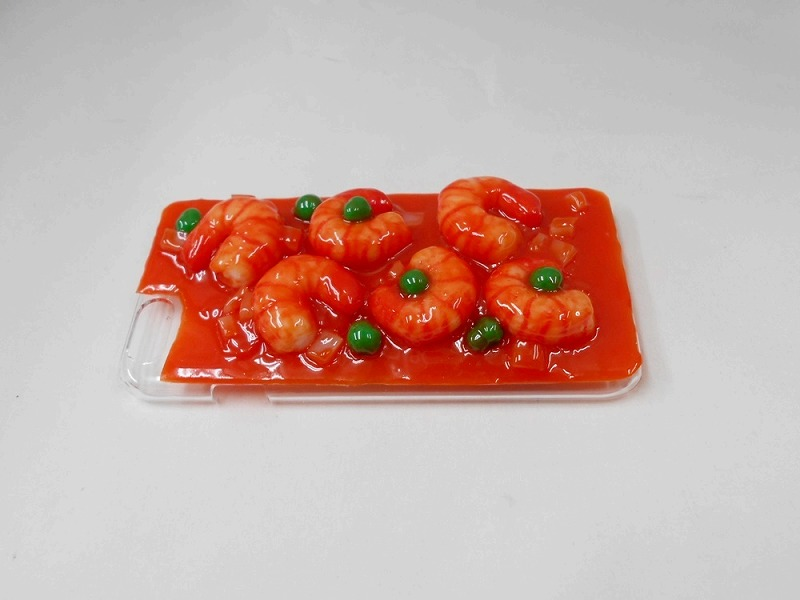 Stir-Fried Shrimp with Chili Sauce (new) iPhone 7 Case