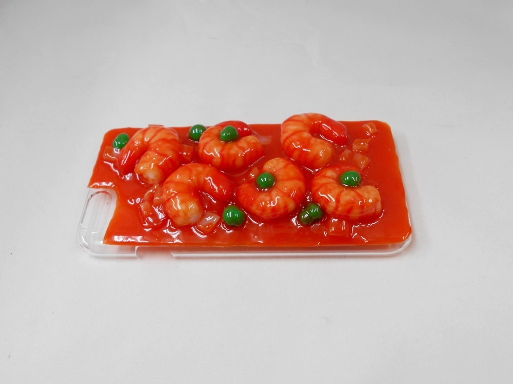 Stir-Fried Shrimp with Chili Sauce (new) iPhone 8 Case