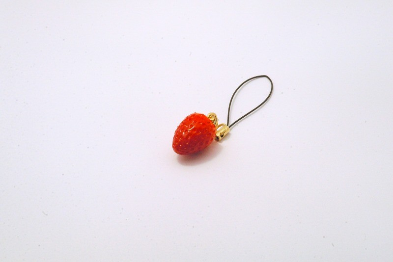 Strawberry Cell Phone Charm/Zipper Pull