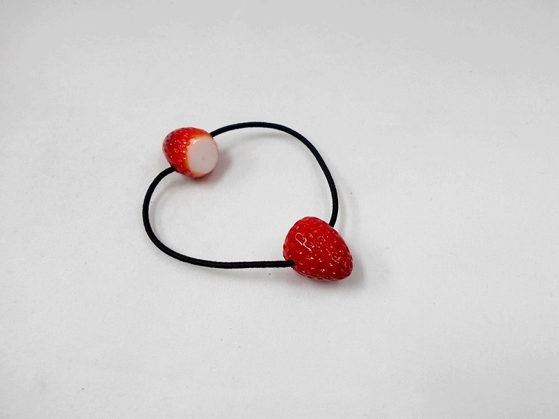 Strawberry Hair Band (Pair Set)
