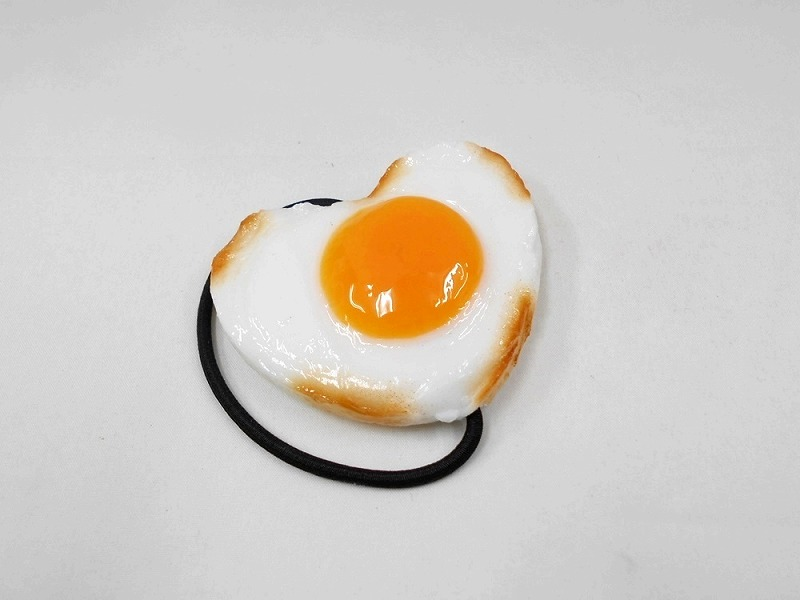 Sunny-Side Up Egg (Heart) Hair Band