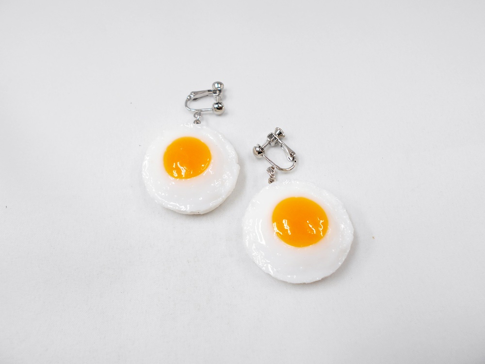 Sunny-Side Up Egg (small) Earrings