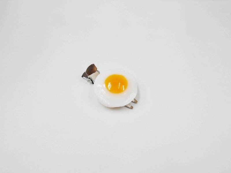 Sunny-Side Up Egg (small) Hair Clip
