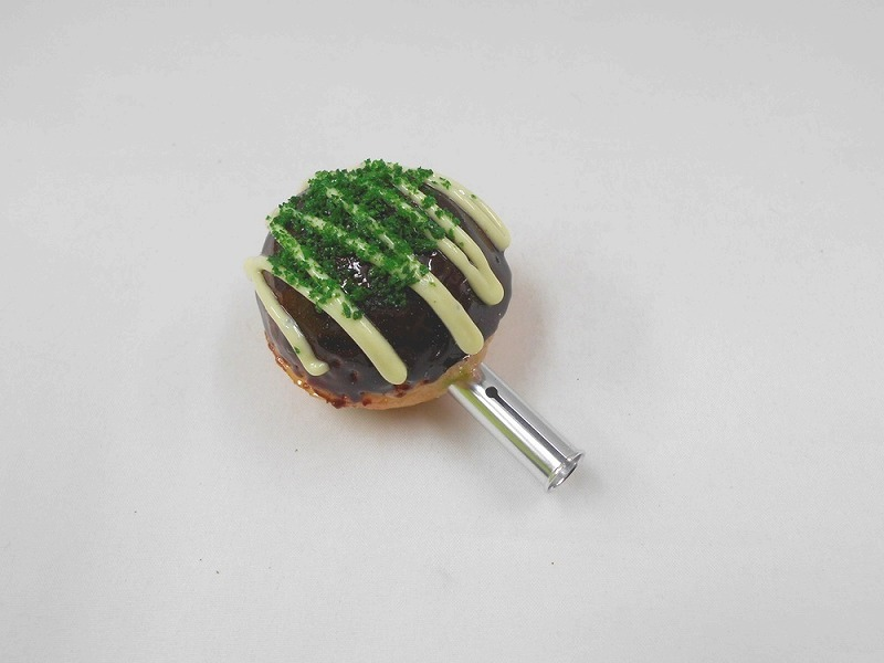 Takoyaki (Fried Octopus Ball) with Mayonnaise Pen Cap
