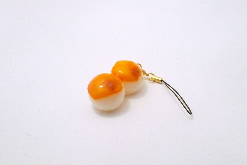 Toasted Dumplings Covered in a Soy & Sugar Sauce Cell Phone Charm/Zipper Pull