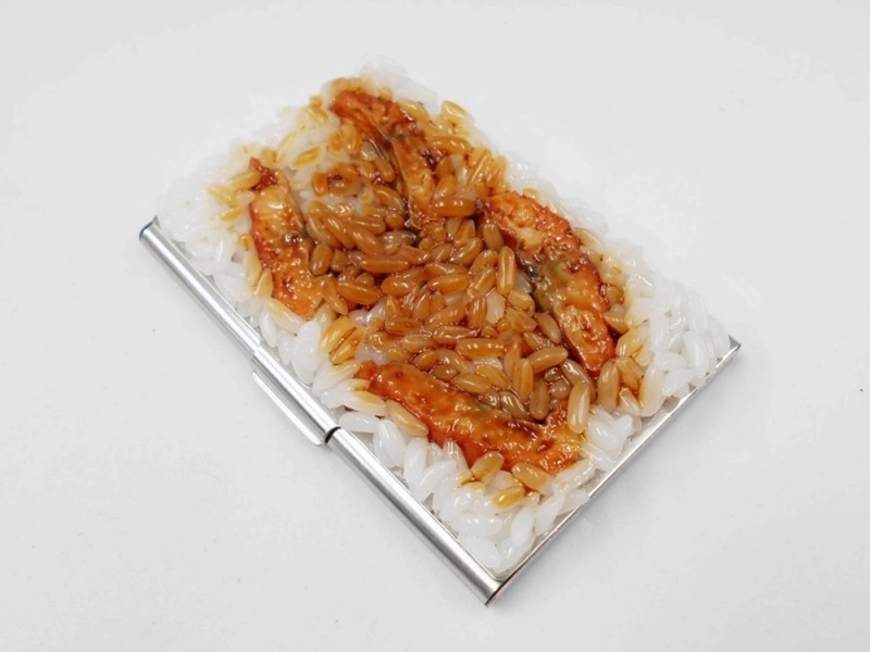 Unagi eel rice business card case fake food japan unagi eel rice business card case colourmoves
