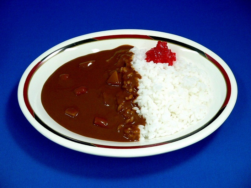 Vegetable Curry & Rice Replica