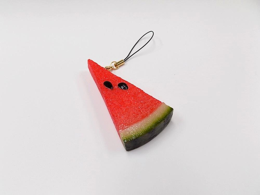 Watermelon (small) Ver. 2 Cell Phone Charm/Zipper Pull