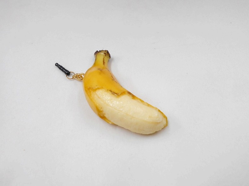 Whole Peeled Banana Headphone Jack Plug