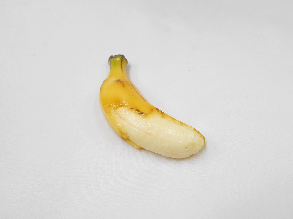 Whole Peeled Banana Magnet