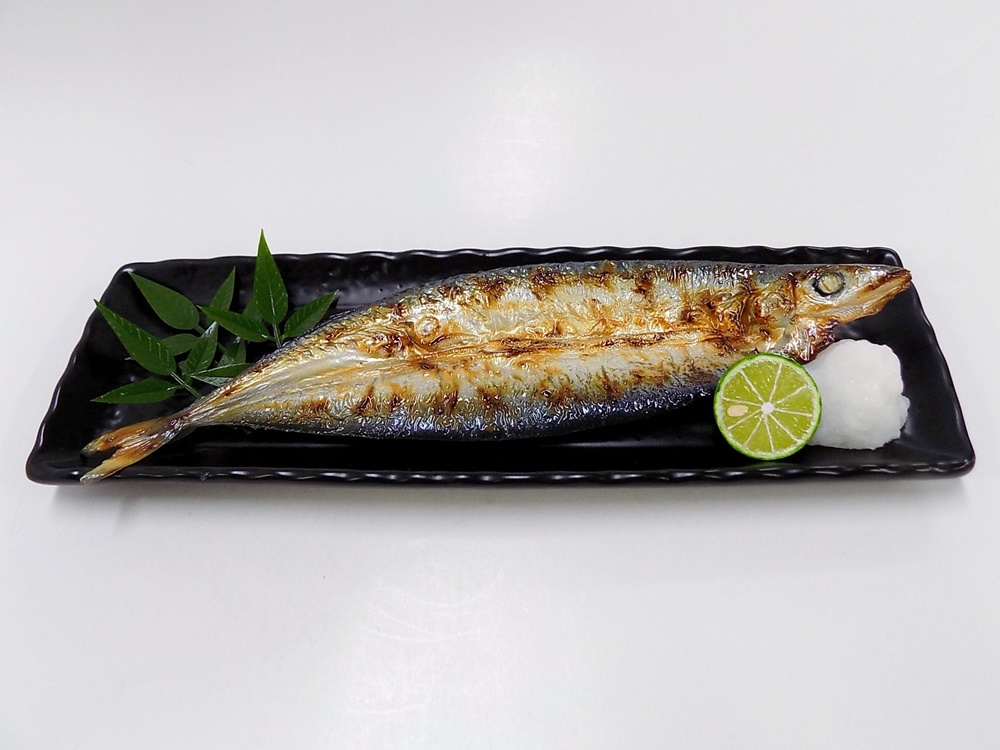 Yaki Sanma (Grilled Mackerel Pike) Replica