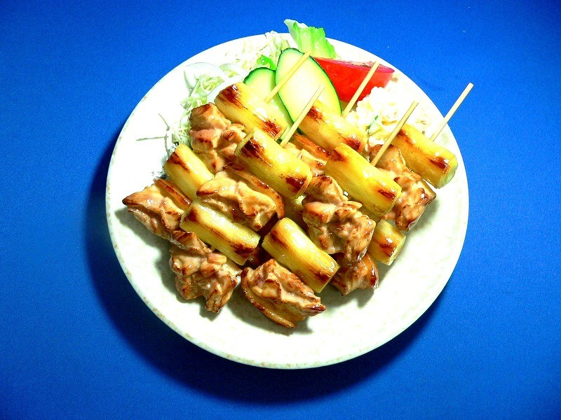 Yakitori (Grilled Chicken on Skewers) Replica