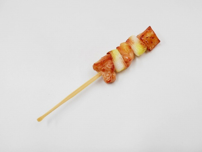 Yakitori Negima (Grilled Chicken with Green Onions) Ear Pick
