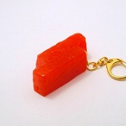 2 Cuts of Tuna Sashimi Keychain - Fake Food Japan