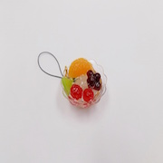 Anmitsu Cell Phone Charm/Zipper Pull - Fake Food Japan