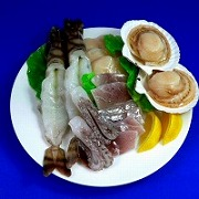 Assorted Seafood Replica - Fake Food Japan