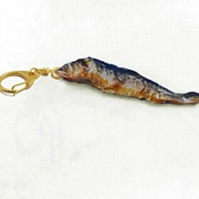 Ayu (Sweetfish) Keychain - Fake Food Japan