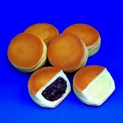 Azuki Bean & Custard Creme Filled Cakes Replica - Fake Food Japan