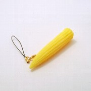 Baby Corn Cell Phone Charm/Zipper Pull - Fake Food Japan