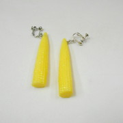 Baby Corn Clip-On Earrings - Fake Food Japan