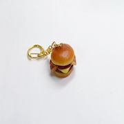 Bacon & Cheese Burger Keychain - Fake Food Japan