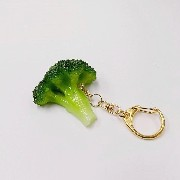 Broccoli Keychain