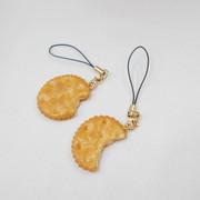 Broken Cracker Cell Phone Charm/Zipper Pull - Fake Food Japan