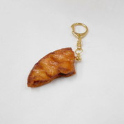 Broken Soy Sauce (Shoyu) Senbei (Japanese Cracker) Keychain - Fake Food Japan